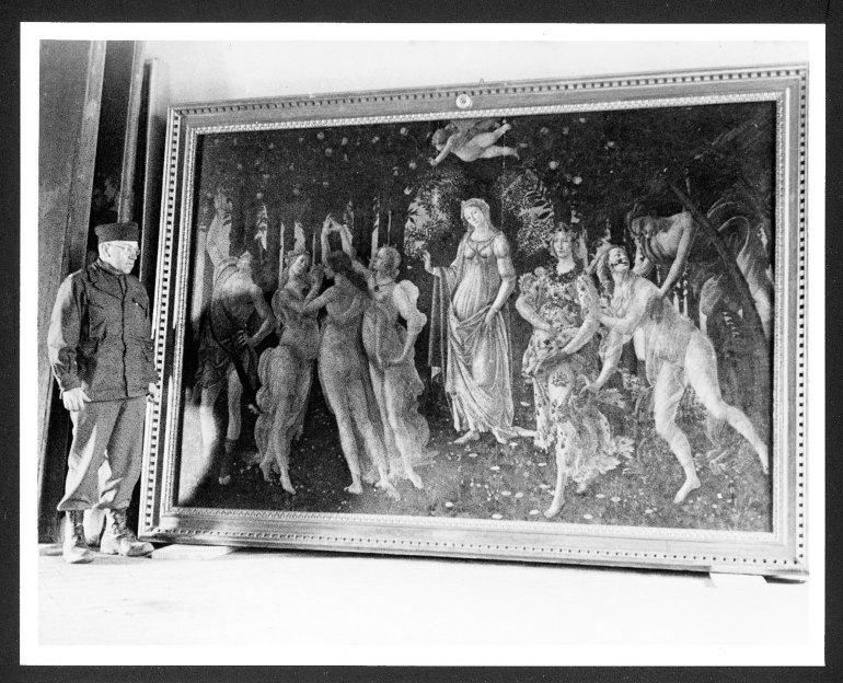 Questa invece è la Primavera, di Botticelli. Ditemi che lo sapevate.
