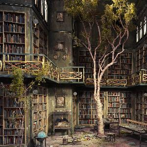 abandonedancientlibraryescape